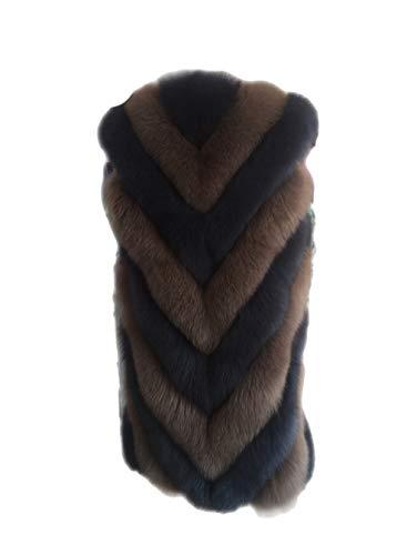 Faux fur lungo peacoat oversize della maglia senza maniche donne casuali chunky cappotto per il lavoro quotidiano