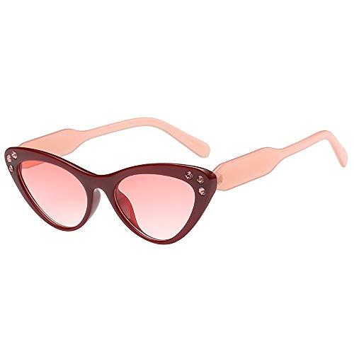 Produp Unisex Mode Sommer Tourismus Trend Classic Cat Eye unregelmäßige Sonnenbrille Sonnenbrille Brille