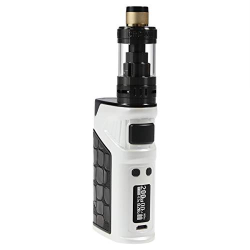 Uwell Ironfist Kit 200 Watt, mit Crown 3 Clearomizer 5 ml, Durchmesser 24,5 mm, Riccardo e-Zigarette, weiß