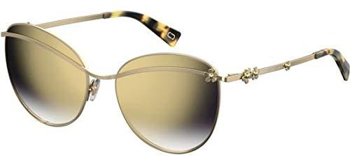 Marc Jacobs Sonnenbrillen Marc Daisy 1/S Gold/Grey Gold Shaded Damenbrillen