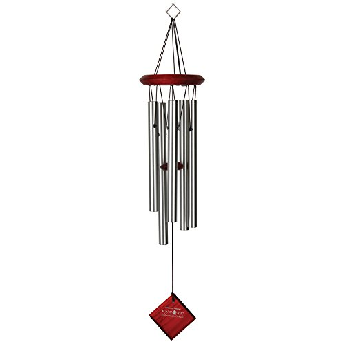 Woodstock Chimes Campana Viento Polaris Color Plata