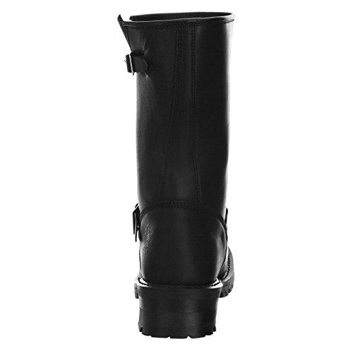 Grinder Mens Turbo Leather Boots Schwarz oEUTsj