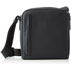 BOSS Hyper_ns Zip, Sacs portés épaule homme, Noir (Black), 8x26x23 cm (B x H T)