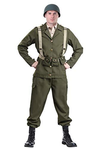 Deluxe WW2 Soldat Kostüm - S