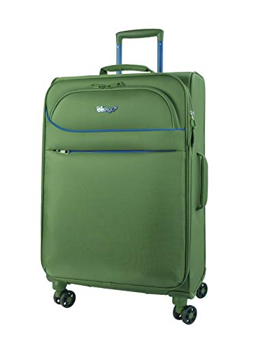 Verage BREEZE 4 Rollen Stoff Trolley Reisekoffer Grün, 3er Set S-33L (18.5