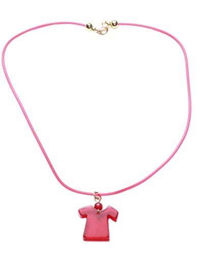 Fashion in avanti, colore: rosso Sangue umano &-Collana con pendente in plastica, Chocker Necklace. Zx96)