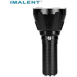Lampe torche MS18 avec écran LED et ventilateur de refroidissement, lumière de recherche très lumineuse pour camping, randonnée, aventures