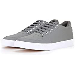 Red Rose Casual Sneakers Shoe's for Men's. (10, Gray)