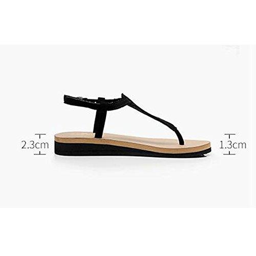 Estate Sandali I sandali sexy dei sandali degli allievi degli allievi femminili di estate femmina pattino sexy Colore / formato facoltativo 1001