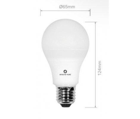 STANDARD 12W E27 220V 360º DIMMABLE LED de Beneito Faure - Blanco muy