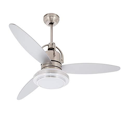 Ventilador de Techo LED Industrial 18W Plata Seleccionable (Neutro-Frío) efectoLED