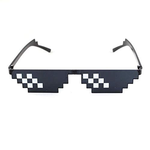 Passionate turkey Leidenschaftlich türkei muselife Brille 8 bit Pixel Sonnenbrille männer Frauen Thug Life Party Brillen mosaik Vintage Eyewear uv400,2