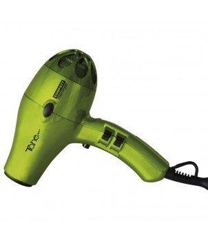 Tahe Secador de Pelo Profesional 2000W con 5 Temperaturas, Filtro de Aire y Protección Térmica con 2 Boquillas + Difusor, Color Pistacho
