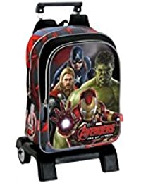 Montichelvo Avengers Mochila Carro, 32 x 42 cm, Color Gris