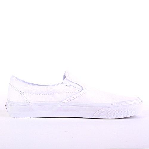 Vans U CLASSIC SLIP-ON, Sneaker Unisex Adulto White