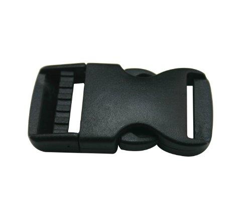 en-plastique-noir-interieur-25-cm-eye-splice-fermeture-boucle-de-ceinture-sac-a-dos-boucles-lot-de-1