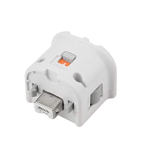 HOTSO Wii Motion Plus Sensor Adapter Extender Zubehör für Original Wii Wii U Motion Sensor Extender Spiel Anhang für Fernbedienung, Weiß