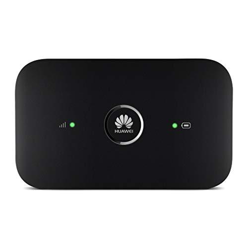 Huawei E5573Cs-322 - Wi-Fi móvil (150Mbps de velocidad de descarga, Wi-Fi Hotspot/router de bajo consumo energético, ranura de tarjeta SIM, hasta un máximo de 10 usuarios, 1 usuario vía USB), negro