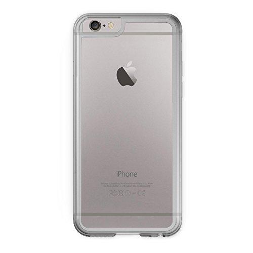 iPhone SE Case - KHOMO Hybrid Schwarzes Bumpern Case mit kristallklarer Rückwand Ultra Slim Hülle mit kompletten Schutz fur dein neue Apple iPhone SE - Schwarz Transparent