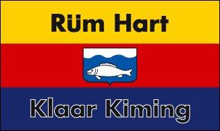 Rüm Hart  Flagge Fahne 90 * 150 cm