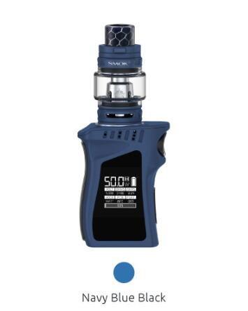 Original SMOK 50W MAG BABY KIT with TFV12 Baby prince Sub-ohm Tank Atomizer Verdampfer E-Zigarette (Marineblau Schwarz) -