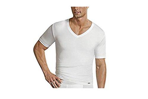 Jockey Microfiber V-Neck Shirt Doppelpack White