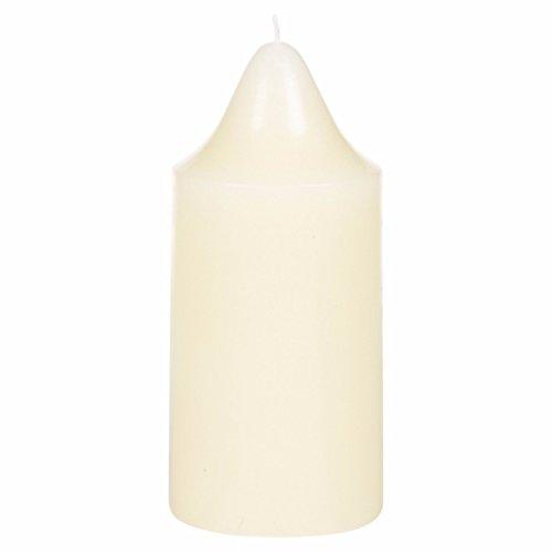 2kleine Weiß Kirche Kerze - 2 Votives