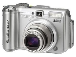 Canon PowerShot A630 Digitalkamera (8 MP) Canon Powershot 8 Mp