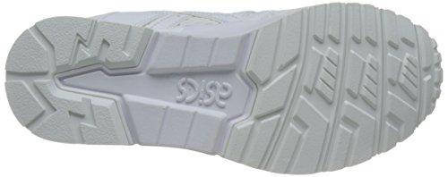 Asics Gel-Lyte V, Chaussures de Course pour Entraînement sur Route Mixte Adulte Blanc