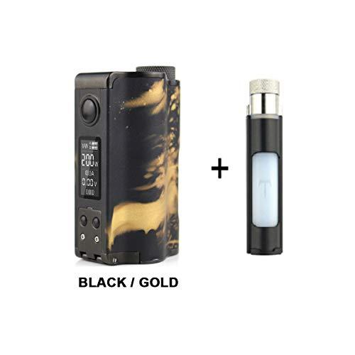 Original 200W DOVPO Topside Dual Top Fill TC Squonk MOD avec bouteille de  rechange Squonk Cigarette électronique Mod