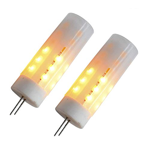 G4de parpadeo llama bombillas LED