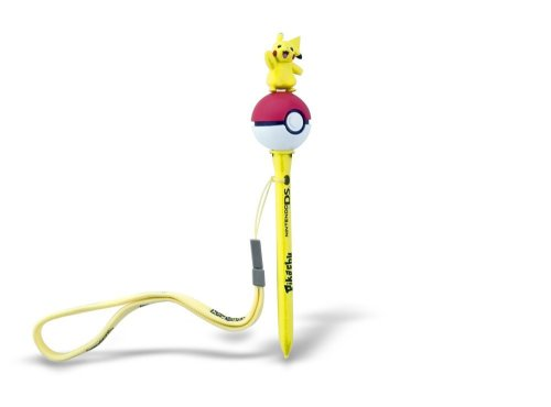 Nintendo DS lite - 3D Pokémon Stylus Pens, Pikachu (Pikachu Ds Lite)