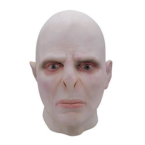 Big Mann Kostüm Superhelden - CHENJJ Masken Voldemort Perücken Ganze Person Lustige for Halloween Dämon Helm Show Requisiten Gruselig Horror