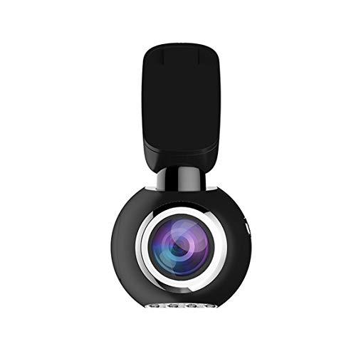TrueCam A5 Pro Cam/éra embarqu/ée WiFi GPS Full HD 1080p avec flash capteur de cadenas et d/éverrouillage de fichiers connexion WiFi boucle pratique /écran LCD avec menu allemand Noir