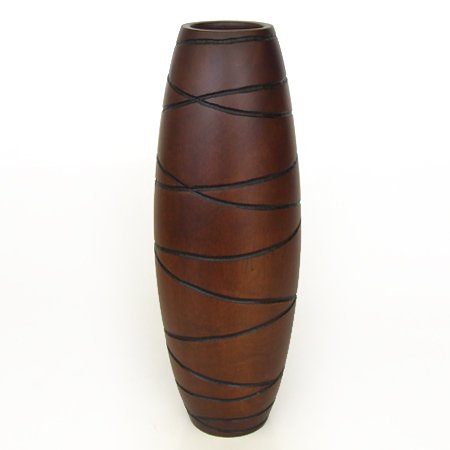 Collumino® Asian Oriental Table or Floor Vase Sculptured for sale  Delivered anywhere in UK