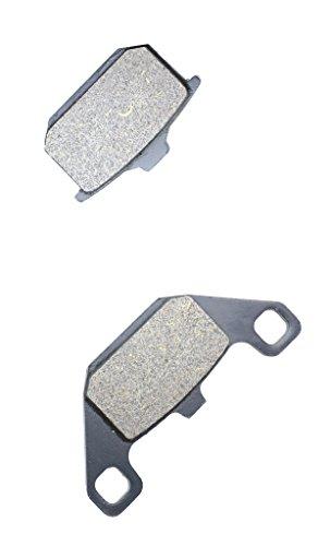 Preisvergleich Produktbild R¨¹ckseite Bremsbelge Halbmetallische fit KAWASAKI Street Bike ZN1300 ZN 1300 Voy. KZT30AG B249 85 &up 1985 &up 1 Pair(2 Pads)