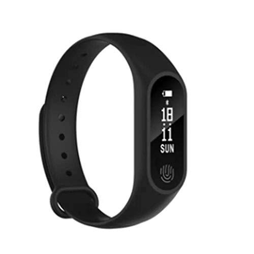 Zlywj Fitness Armband M2 Smart Armband Gesunde Herzfrequenz Wasserdicht Blast Sport Bluetooth USB Aufgeladen Schwarz Blast-usb