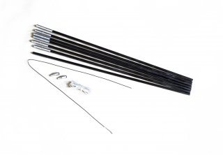 relags-fiberglaszeltstange-schwarz-one-size