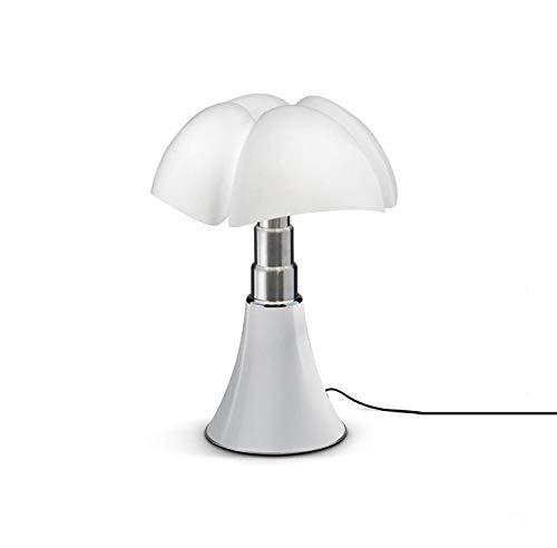 MINI PIPISTRELLO-Lampe Dimmer Touch LED H35cm Blanc Martinelli Luce - designé par Gae Aulenti
