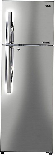 LG 308 L 3 Star Frost-Free Double-Door Refrigerator (GL-C322RPZU, Shiny...
