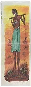 Renkalik renkalikqsipo021p 25x 70cm Uomo Africano Seda Hoja de Papel de póster de impresión (10Unidades)