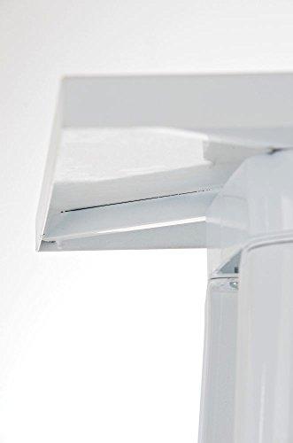 CLP Metall Stehtisch LOGAN Bartisch weiß - 5