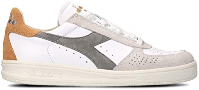 Diadora Heritage Herren 172545BELITEC7458 Weiss Leder Sneakers
