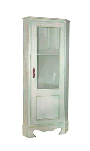 Vetrinetta mobile angolare ad angolo mobiletto con for Mobile angolare bagno