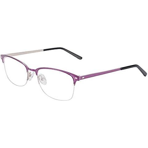SHINU Rettangolare Eyewear Semi-senza Orlo Doppio Strato di Placcatura In acciaio Inossidabile Telaio Dell