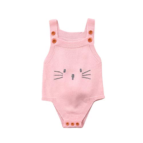 c1c70c9a4 Newborn Baby Boys Girls Clothes Knitted Romper Rabbit Bodysuit Jumpsuit  Sunsuit Outfits Set Clothes - Body
