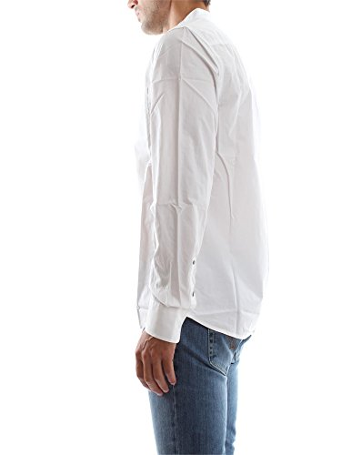 Chemise Guess Korean Collar Blanc Blanc
