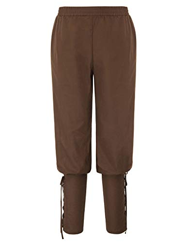 Mittelalterliche Kostüm Männer - SCARLET DARKNESS Männer Gothic Ankle Pants