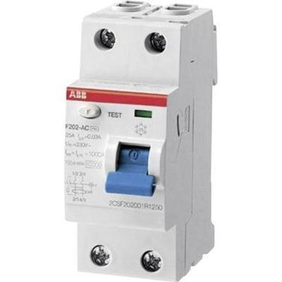 ABB 2CSF202101R1400 FI-Schutzschalter 2polig 40A 0.03A 230 V/AC, 400 V/AC