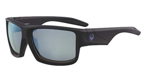 Dragon Sonnenbrille Matte Black H2O Polarisiert Super Blue DEADLOCK 38642-005 - Dragon Männer Für H2o Sonnenbrille
